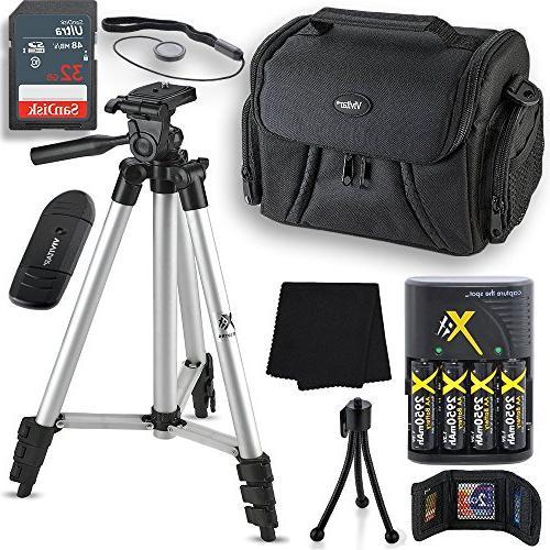 professional accessory kit nikon coolpix b500 l330 l340 l100