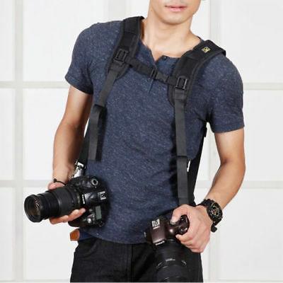 Professional Double Belt Harness Holder DSLR Canon