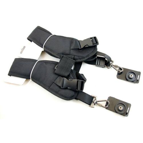 Professional Double Belt Harness DSLR Canon