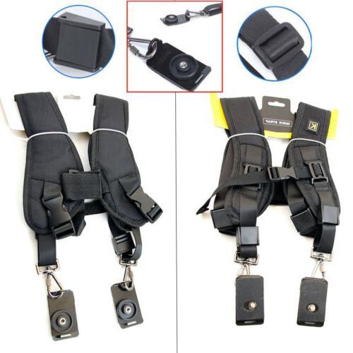 Professional Double Belt For DSLR
