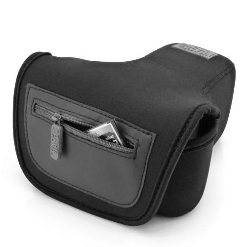 USA Protective Camera Case/SLR Sleeve Holster Scratch Neoprene Fabric T6,