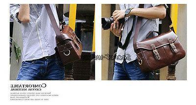 PU DSLR Messenger Bag Nikon Sony