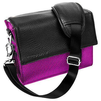 Purple VanGoddy Shoulder Camera Bag For GoPro