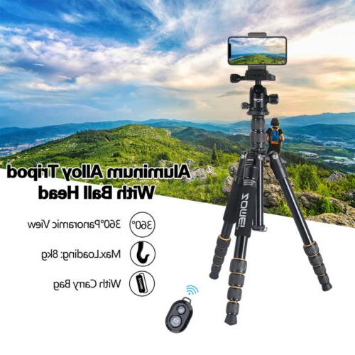 ZOMEI Q666 Tripod Monopod Travel Ball Head For DSLR Camera