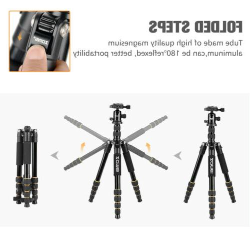 ZOMEI Portable Tripod Monopod Head Camera