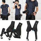 Quick Release Camera Strap Double Dual Shoulder Sling Belt f