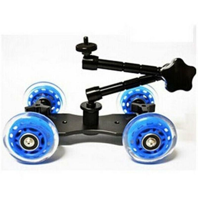 Rail Rolling Skater Car 4-Wheel For