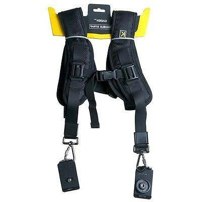 rapid camera dual shoulder neck strap sling