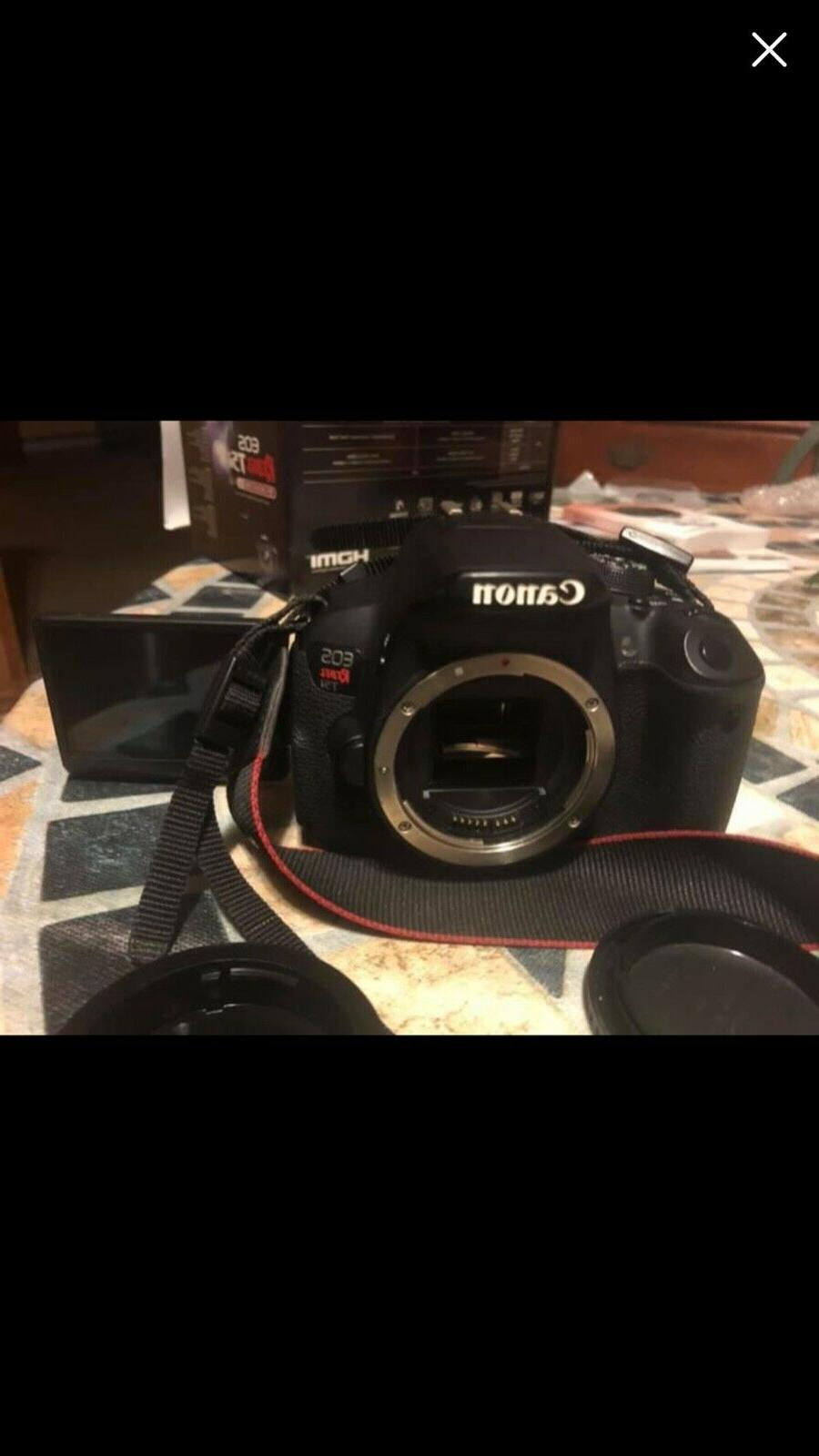 Canon Rebel DSLR Camera Booklet