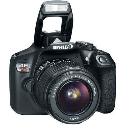 Canon Rebel T6 / 1300D DSLR Camera + 18-55mm Bundle