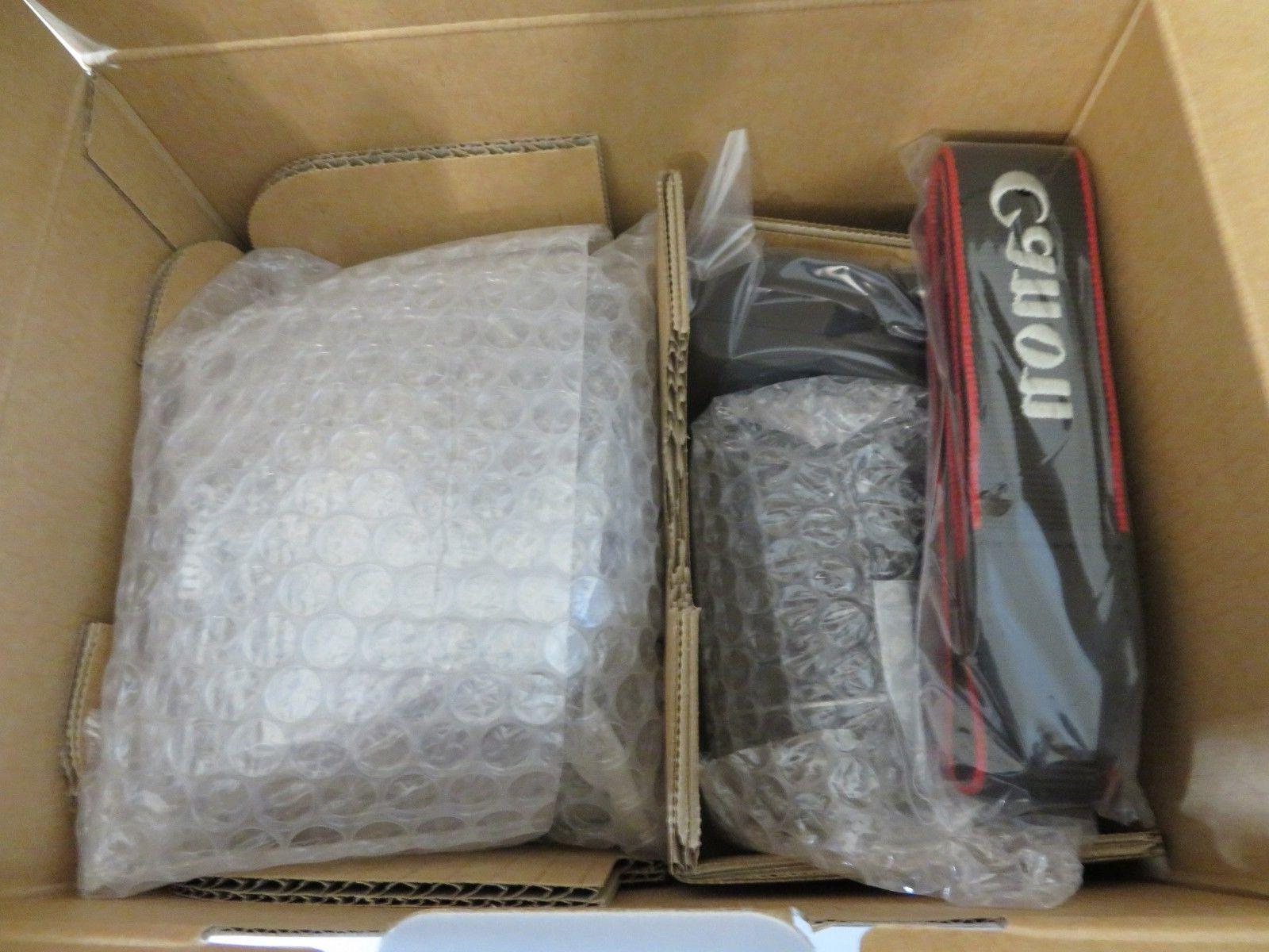 Canon T6 DSLR Camera with 18-55 75-300mm Lenses Card