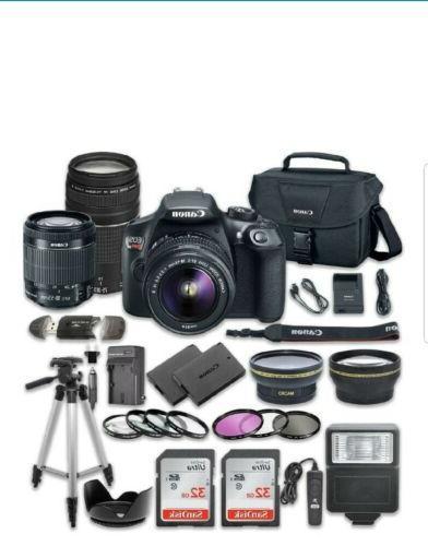 rebel t6 digital slr camera new bundle