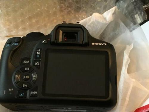 Canon Rebel T6 Camera Store Return