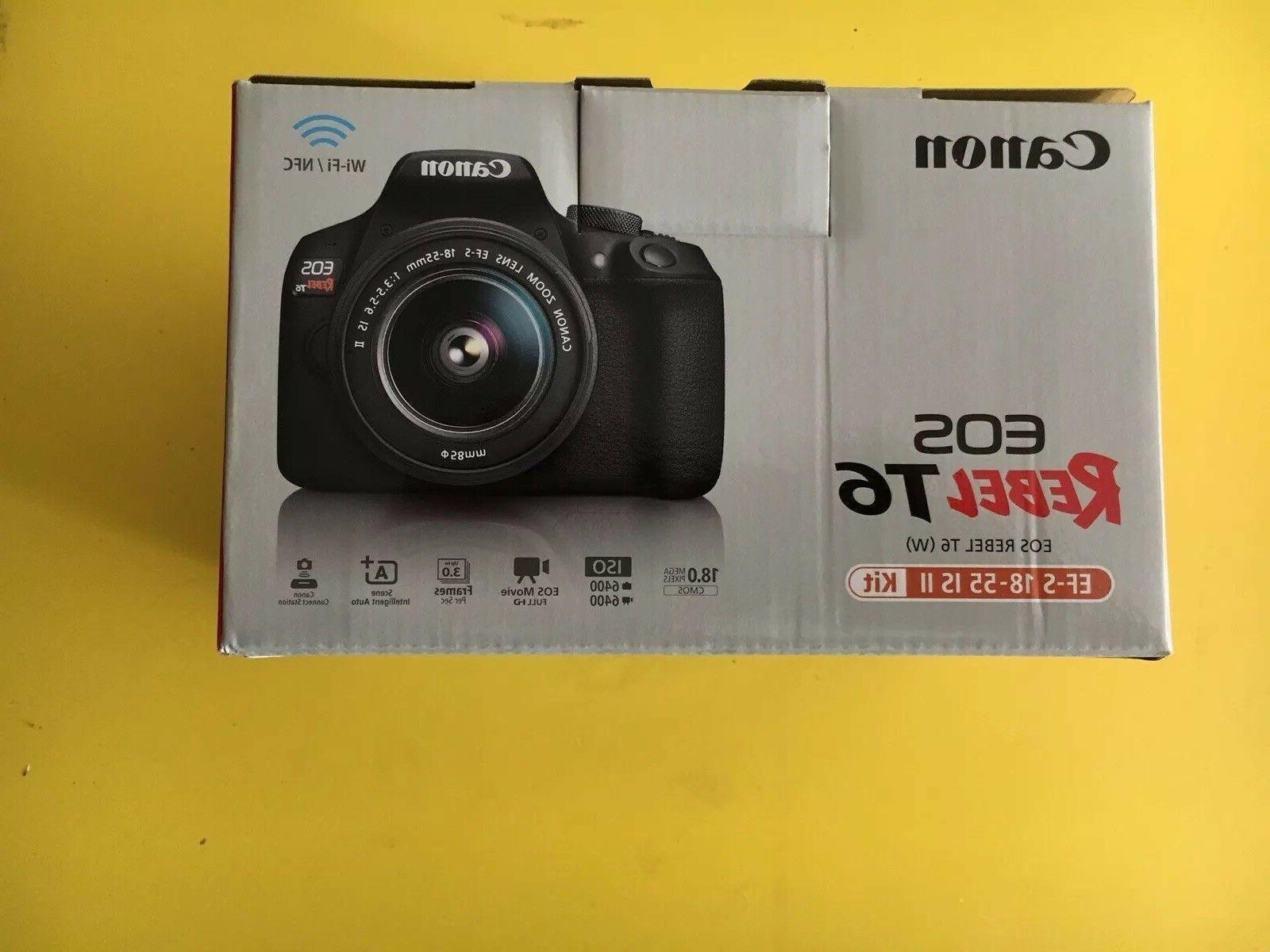 Canon T6 Camera Kit Open Store