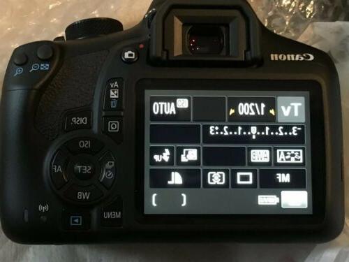 Canon Rebel Camera Kit Store MINT!