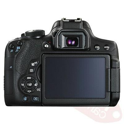Canon Camera with 18-55mm STM+ 16GB Lens Accessory Kit