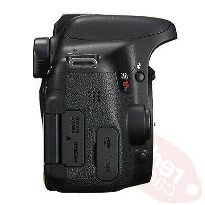 Canon T6i Camera 16GB 3 Lens Accessory Kit