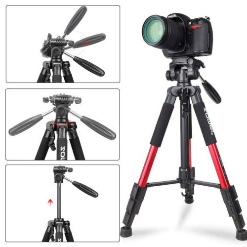 Zomei Red Q111 Pan Head DSLR Camera Video