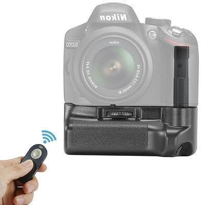 Neewer Remote Control Vertical Battery Grip for Nikon D3200