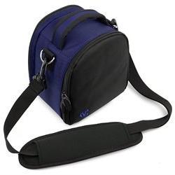 royal blue laurel bag