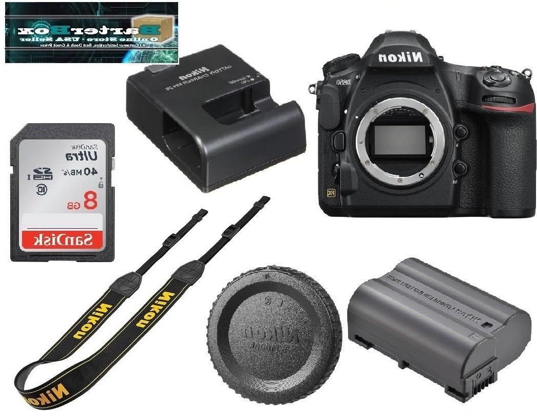 Sale Nikon D D850 45.7Mp Digital Slr Camera Body 4K  WiFi  B