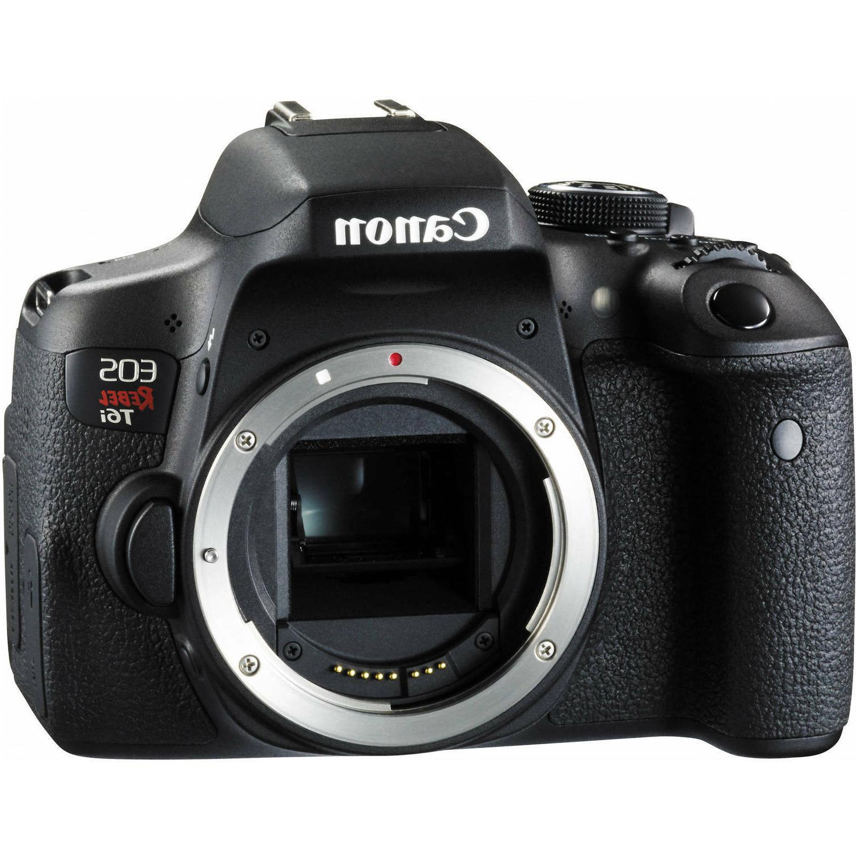 Black Friday Canon Eos Rebel 750D T Dslr Camera Black Deal