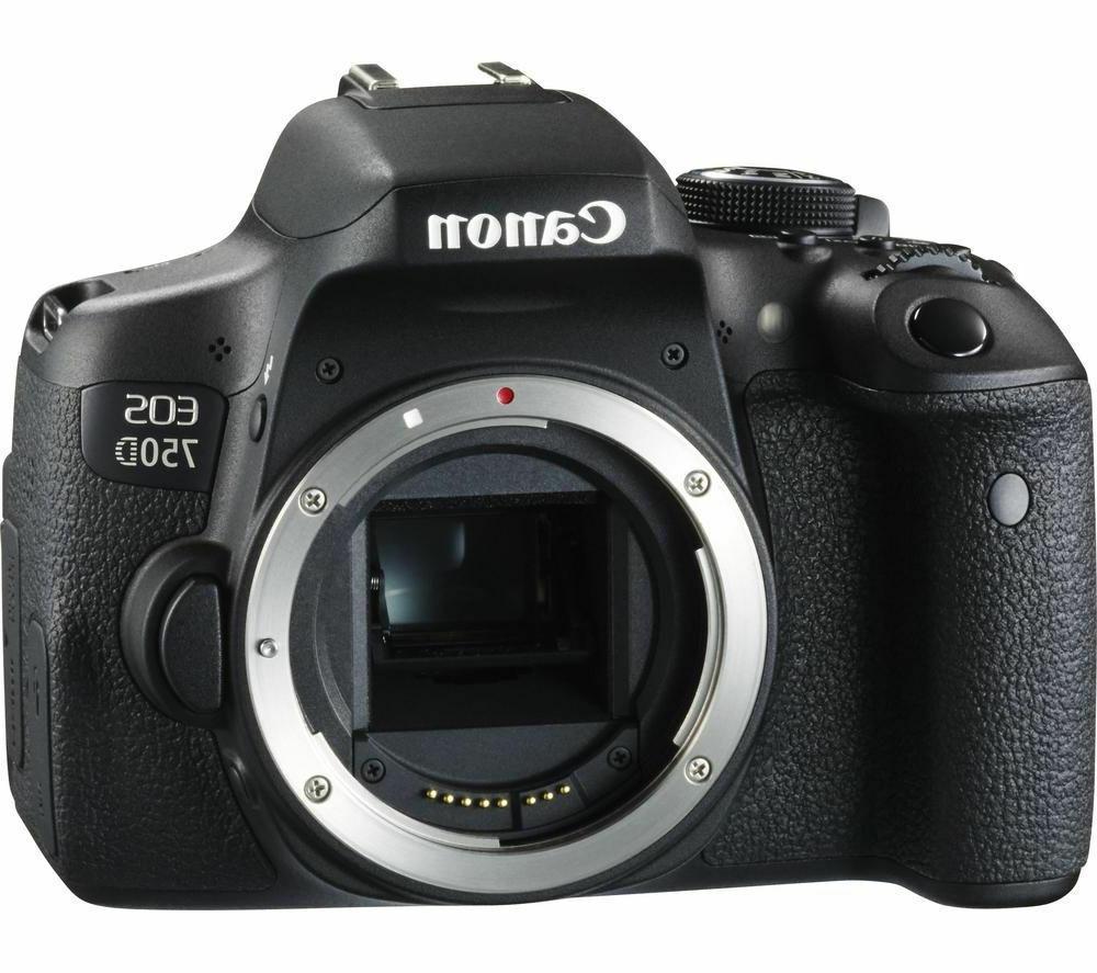 Black Friday Genuine Canon Eos Rebel T6i 750D T Dslr Camera Black Deal