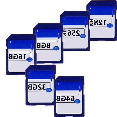 SD Card 256MB 32G 8G Camera Dash Memory Card