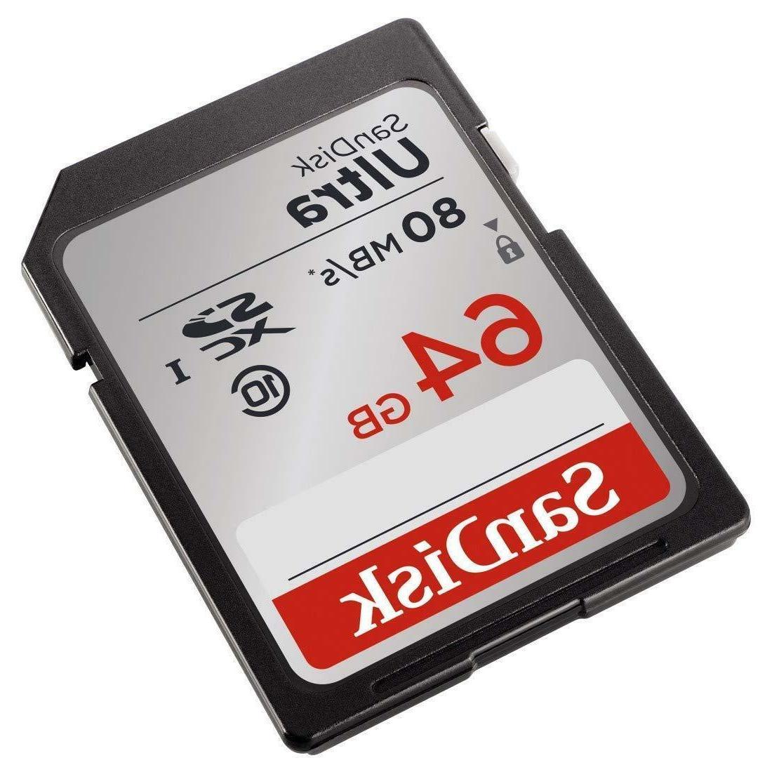 SD Storage Memory Ultra Canon Nikon DSLR