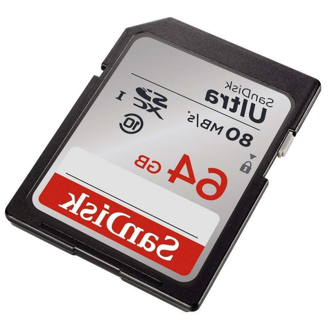SD Storage Memory Card Ultra UHS-I For Nikon Camera