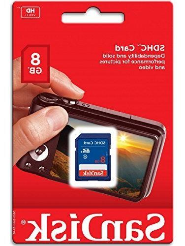 8GB SDHC Class SD sdhc flash Card Camera Nikon