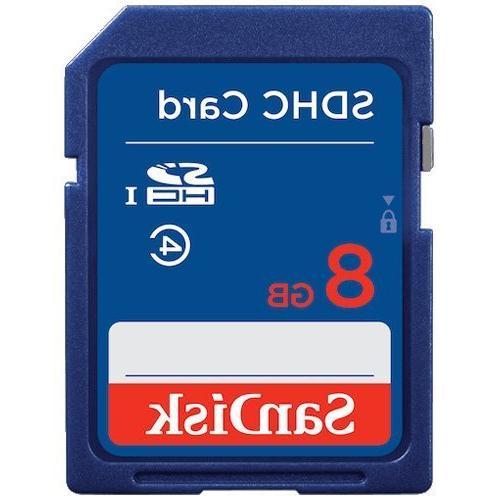 10 Piece 8GB SD sdhc Memory Card Nikon Canon