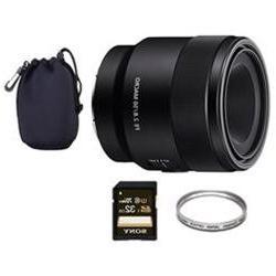 Sony SEL50M28 FE 50mm F2.8 Full Frame E-Mount Macro Lens + 3