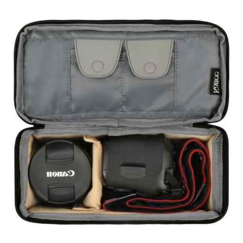 Shockproof DSLR SLR Bag Partition Padded Soft