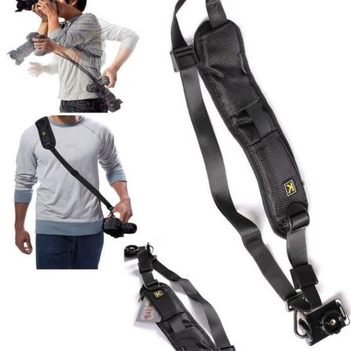 Camera Single Shoulder Belt Strap Sling For SLR DSLR Cameras