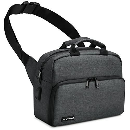 Koolertron Backpack Cover and Padded for Canon Nikon DSLR & Mirrorless, & Bag