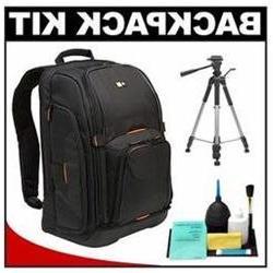 Case Logic Digital SLR Camera Backpack Case   with Tripod +