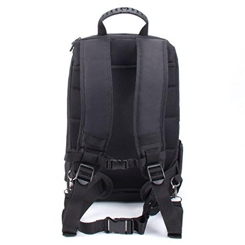 USA Camera Compartment Padded Dividers, Holder, Cover. Durability Storage Pockets - w/Many Cameras