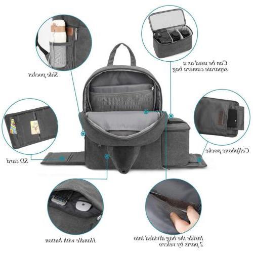 DSLR/SLR Camera Bag Backpack Waterproof Laptop Bag for