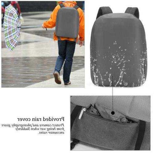 DSLR/SLR Bag Camera Backpack Waterproof Tablet Laptop Bag for