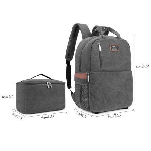 DSLR/SLR Camera Camera Backpack Tablet Laptop Bag Women