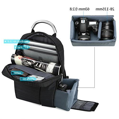 Koolertron HH03162 Multi-function Photography Unisex for Nikon Canon