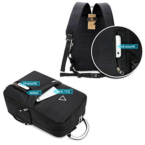 Koolertron SLR Camera Backpack Multi-function Bag Unisex Travel for