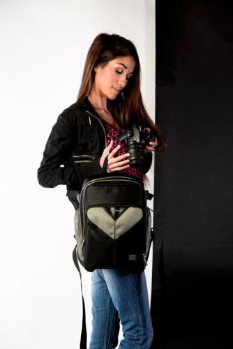 VanGoddy Backpack Carry Canon Sony a9