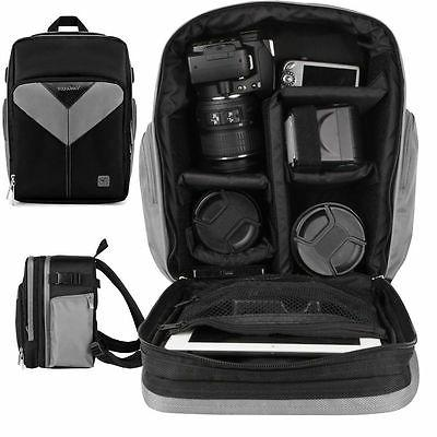 slr dslr camera backpack carry case bag