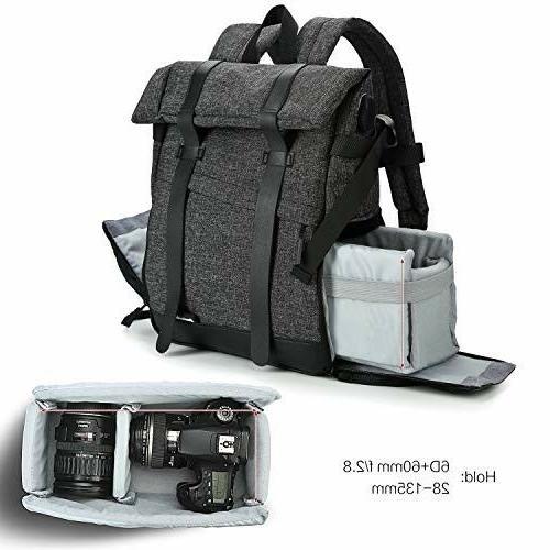 Koolertron Backpack Charge Multi-Function Waterproof Photogr