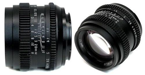slr magic 50mm f1 1 cine camera