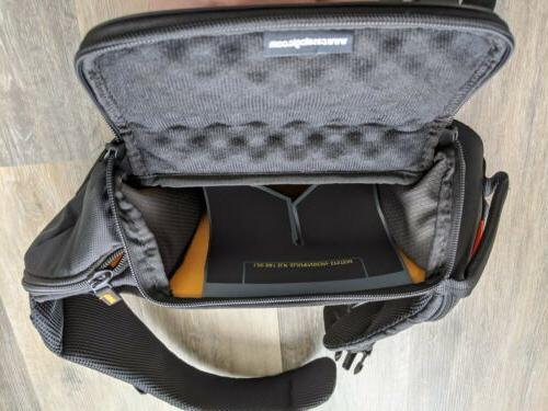 Case SLRC-205 SLR or Mirrorless Camera Black. used.