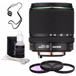 Pentax SMC DA 18-135mm F/3.5-5.6 ED AL DC WR Lens, 3 Piece F