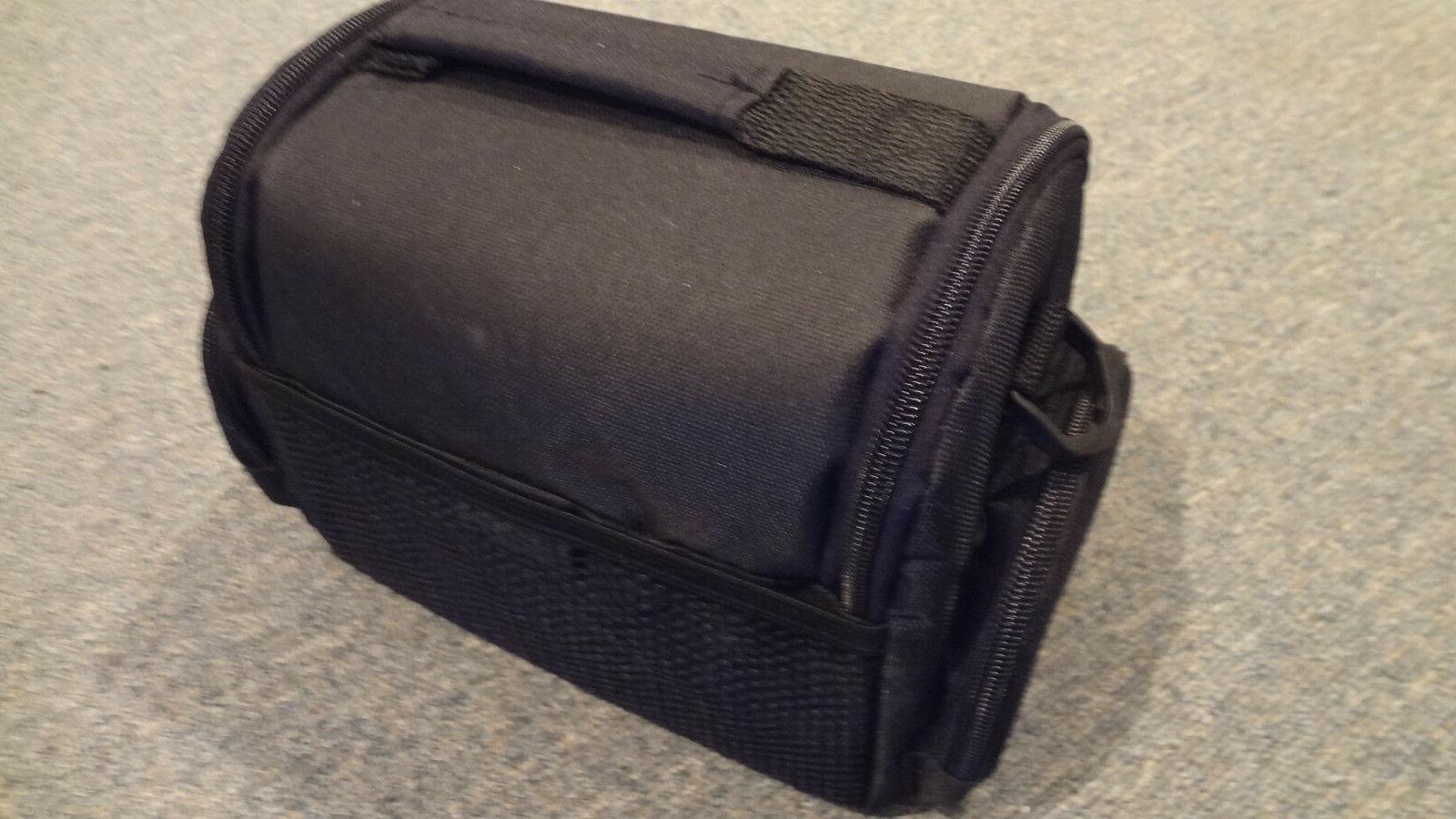 ZEIKOS SOFT MEDIUM CAMERA CASE BLACK BAG